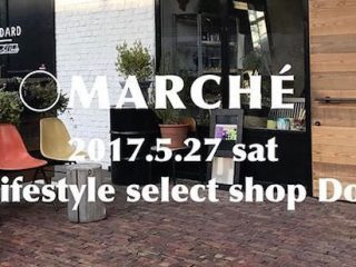 〇MARCHE'       Life' style select shop Door